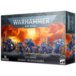 WH40K: Space Marines Assault Intercessors