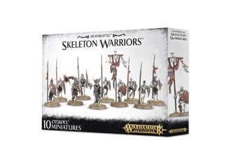 AoS: Deathrattle Skeletons Warriors