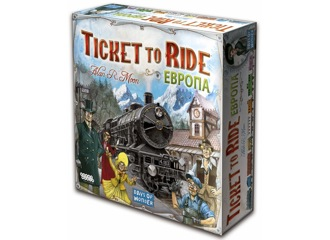 Ticket to Ride: Европа (3-е рус. изд.)