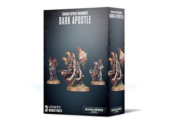WH40K: Chaos Space Marines Dark Apostle