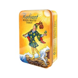 "Карты Таро ""Radiant Rider-Waite Tarot deck in a Tin"""