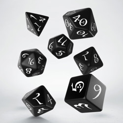 Набор кубиков Classic RPG Black & white Dice Set (7)