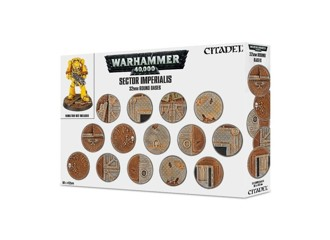 WH40K: Sector Imperialis 32mm Bases